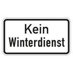 """Hinweisschild """"Kein Winterdienst"""" 420 x 231 mm"""