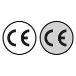 CE-Kennzeichen rund
