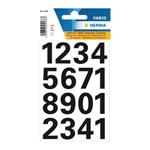 Herma 4168 Zahlen 25 mm 0-9 wetterfest Folie schwarz