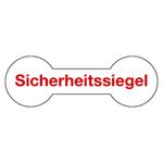 """Siegel """"Sicherheitssiegel"""" 60 x 20 mm aus Dokumentenfolie"""
