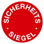 """Siegel """"Sicherheitssiegel"""" Ø 30 mm aus Dokumentenfolie"""