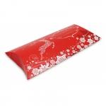 10er Pack Kissenverpackung Geschenkbox Weihnachten rot