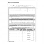 Erklärungsantrag für Prozess- oder Verfahrenskostenhilfe