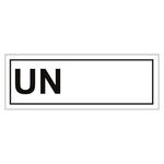 UN-Verpackungskennzeichen blanco