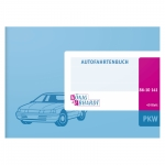 1 Fahrtenbuch für Pkw DIN A6 quer - 40 Doppelseiten