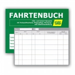 1 Fahrtenbuch/Kontrollbuch für LKW DIN A5/35 Seiten SVG